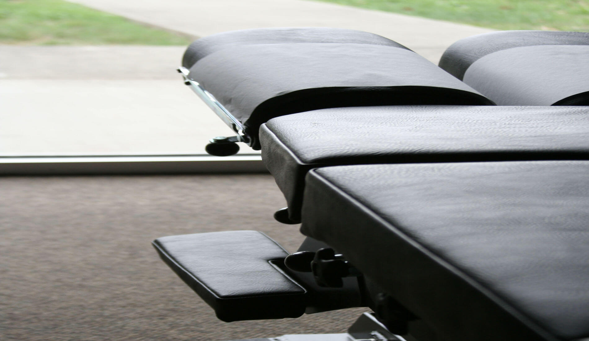 Chiropractic care table